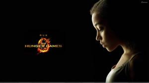 The Hunger Games – Amandla Stenberg As Rue Sad Side Face