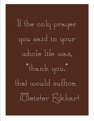 Thanksgiving Quote with Free Printable