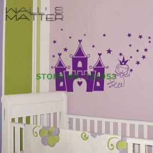 Princess Castle Stars Wall