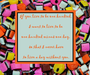 Licorice - Candy Border - Declaration Of Love - Quote Digital Art