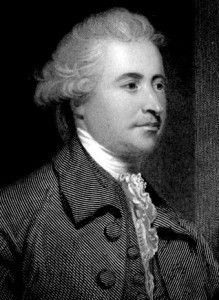 Edmund Burke (1729 – 1797) was an Irish author, statesman, political ...