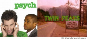 Fans of 'Twin Peaks' rejoice! 'Psych' is paying homage to the show ...