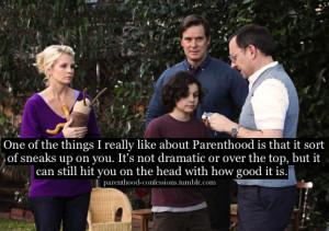 Parenthood TV Show Quotes