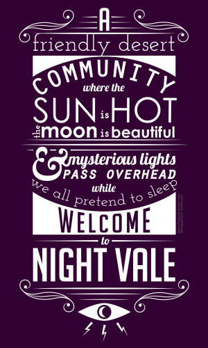 Welcome To Night Vale Quotes Existence Welcome... to night vale by