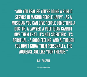 Public Service Quotes