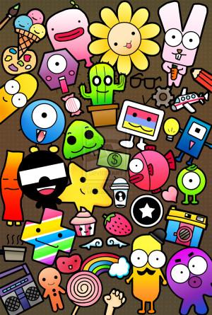 doodle clearer version by mkho digital art drawings paintings pop art ...