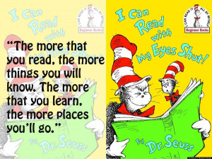 Dr Seuss Reading Quotes Timeless dr. seuss quotes: