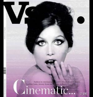 Laetitia Casta en couverture du magazine VS automne hiver 2011 2012