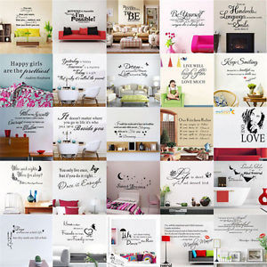 DIY-Quote-Word-Poem-Art-animal-Removable-Wall-Sticker-stickers-Home ...