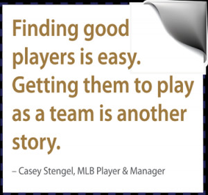 Most of the high functioning teams that have been studied were not ...