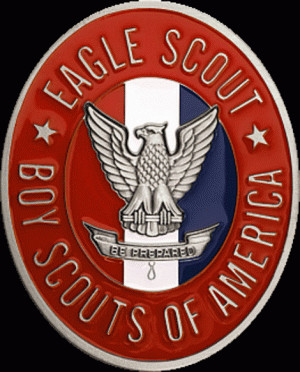 BOY SCOUT CLIP ART EAGLE