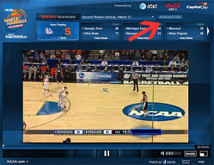 watch live college basketball games, on demand, during March Madness ...