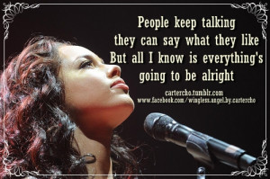 alicia keys quotes about love