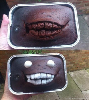 How to turn a cake accident into something awesome…