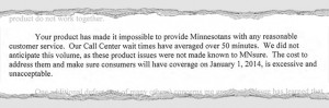 An excerpt from Gov. Mark Dayton's Dec. 13 letter to IBM CEO Virginia ...