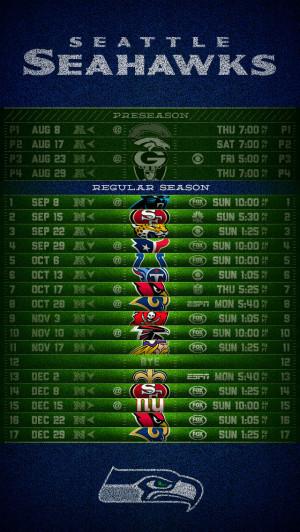 Seahawks 2013 Schedule