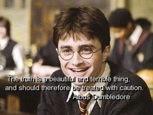 Harry potter, quotes, sayings, truth, wisdom, meaningful, clever