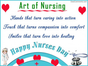 ... happy nurse the hole in the patient nursing quotes about caring