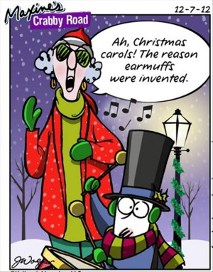 funny maxine comics, christmas pictures