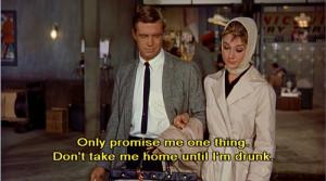 Audrey Hepburn Breakfast At Tiffanys Quotes Audrey hepburn breakfast ...