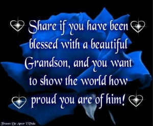 Quotes/Sayings: Three Grandson, Grandma Quotes, Blue Flowers, Quotes ...