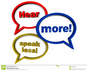 ... , concept of better communication skills, and listening skills