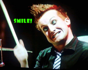 Tre Cool Prez Likeomggreenday