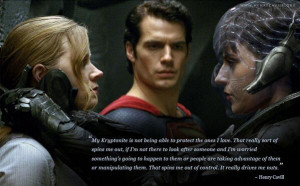 Our #CuppaCavill theme is Henry Cavill quotes from Man of Steel. More ...