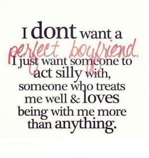 Perfect Boyfriend - quotes Photo