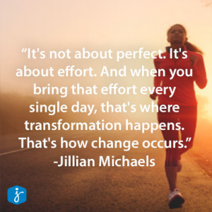 "... change occurs."" -Jillian Michaels #Quote #Inspiration #WeightLoss"