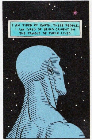 Dr. Manhattan from one of my all-time favorite graphic novels, The ...