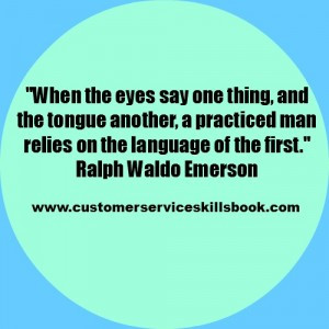 Non Verbal Communication Quote – Ralph Waldo Emerson