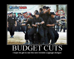 Budget Cut Irony - Business Pundit