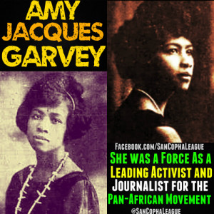 ... being very grateful that Amy was his wife and not a rival. Amy Jacques