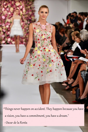 Inspiring Oscar De La Renta Quotes To Live Your Life By