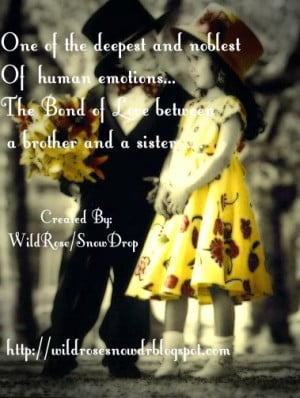 Brother Sister Love Quotes and Sayings