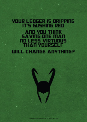 ... avengers which was your favorite quote any other quotes you d like to