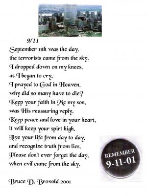 September 11 Poems 9/11 poem