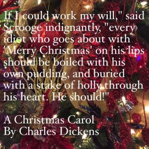 My Favorite Quotes from A Christmas Carol #5 – Boiled with his own ...