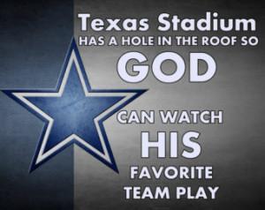 Dallas CowboysPoster NFL Football F an Wall Art Print 8x11