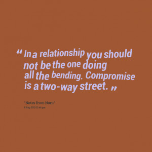 one way street relationship meaning