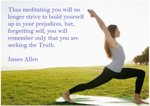 James allen Quotes for Yoga Day 2015