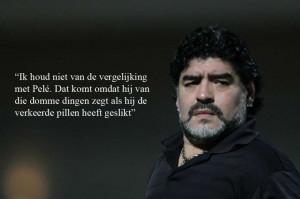 28 mooie uitspraken van de legendarische Diego Maradona