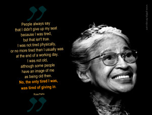 famous martin luther king quotes Quotes From Rosa Parks Viewing ...