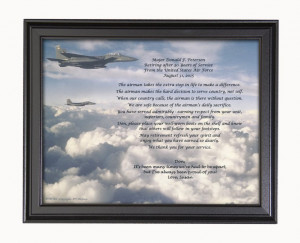 Air Force Retirement Poem