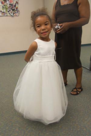 Images of David's Bridal Flower Girl Dresses