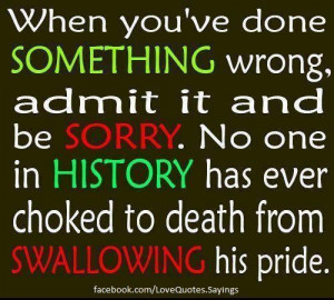 ... Own Your Mistakes- So true :)) Don't Blame Others for Mistakes You Do