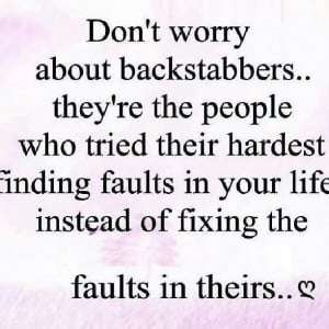 tumblr quotes about backstabbers tumblr quotes about backstabbers ...