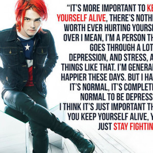 Gerard Way Quote #8 More