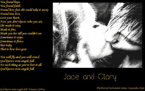 this evening cassie treated us to a city of fallen angels excerpt on ...